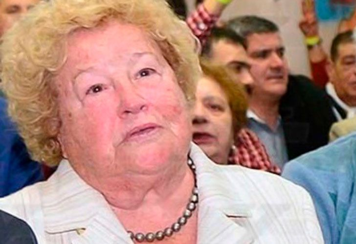 Myriam Chávez, madre del sindicalista preso Marcelo Balcedo