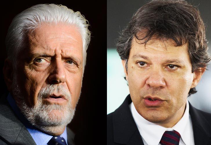 Jaques Wagner y Fernando Haddad, los nombres que baraja el PT para reemplazar a Lula