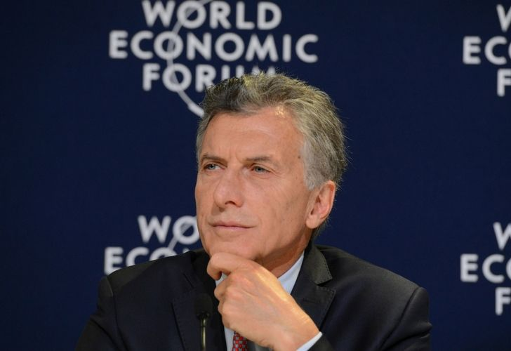 Mauricio Macri en el Foro Económico Mundial