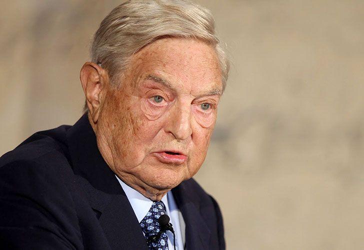 El multimillonario de origen húngaro George Soros