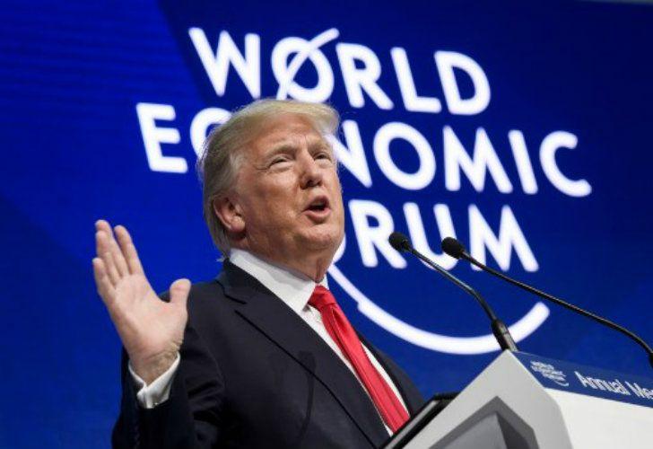 Trump en Davos: discurso crítico con los medios y pedido a los demás países de mayor seguridad militar