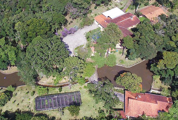 CAMPO EN ATIBAIA. Odebrecht y OAS habrían financiado reformas en una propiedad del ex presidente.