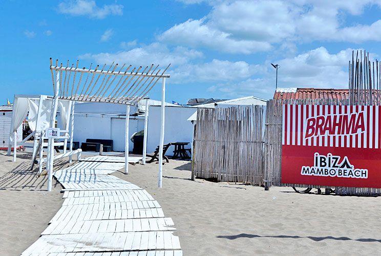 Parador. La primera locación anunciada para La Fontana era Mambo Beach, ubicado en B. Mitre y Nuestras Malvinas.