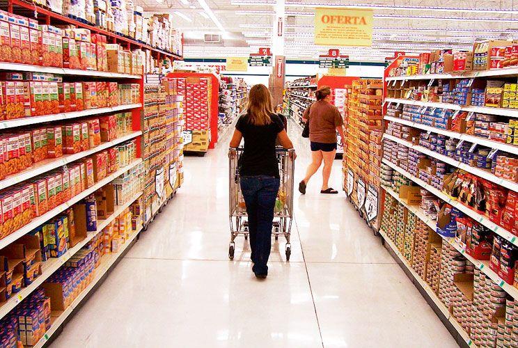 """Accesorio. Para los supermercados, no tiene trascendencia: """"No es nuestro negocio"""", dicen."""