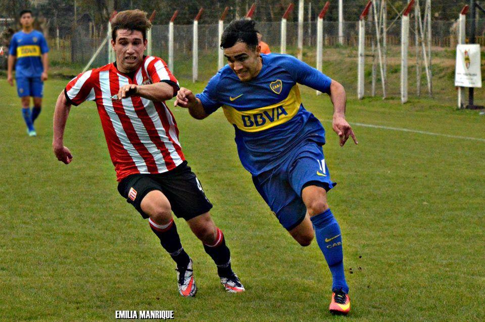 Lucas Brochero, el juvenil cordobés que se destaca en Boca Juniors.
