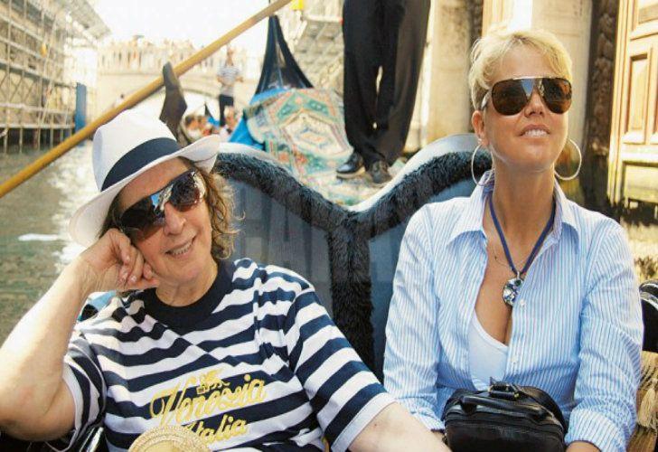 Xuxa y su madre, años atrás.