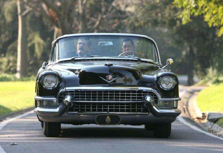 El Cadillac que adquirió Perón fue utilizado por Hugo Chávez, Carlos Menem, Raúl Alfonsin y Arturo Frondisi.