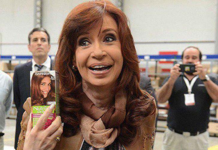 La expresidenta y actual senadora Cristina Fernández de Kirchner.