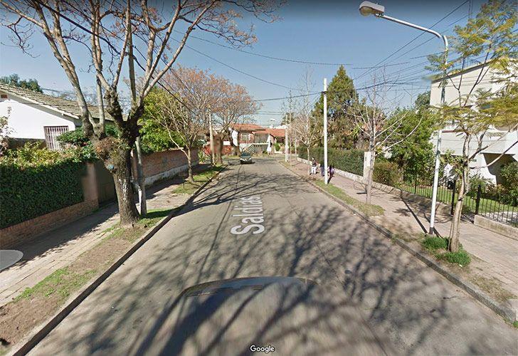 Bomberos acudieron ante una alarma de incendio en la vivienda situada en Saldías 622, localidad de la zona norte del Gran Buenos Aires