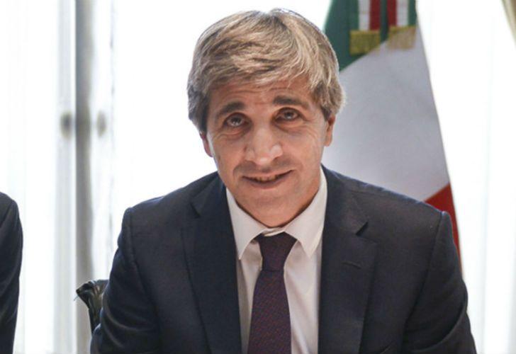 El ministro de Finanzas, Luis Caputo.
