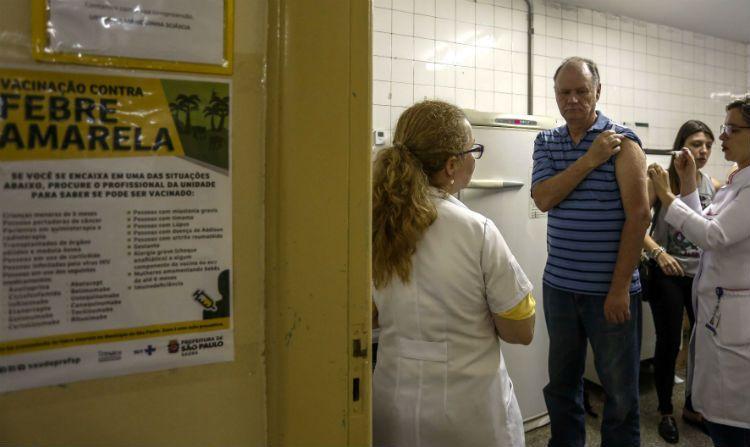 Brasil lanzó junto a la OPS/OMS una campaña masiva de vacunación contra la fiebre amarilla.