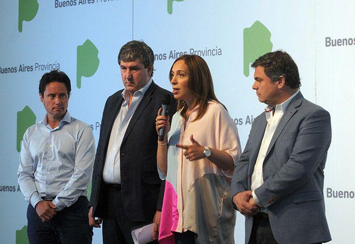La Plata: La gobernadora bonaerense, María Eugenia Vidal, afirmó hoy que