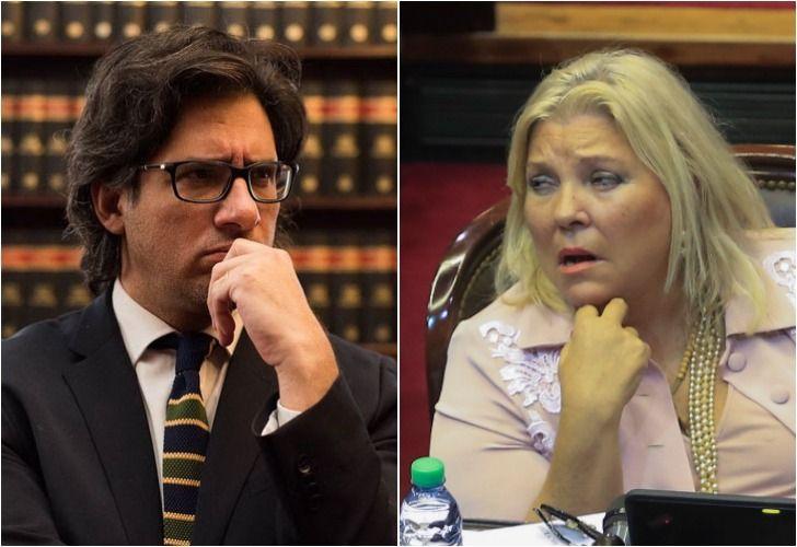 La diputada Elisa Carrió mantiene un enfrentamiento con el ministro Germán Garavano.