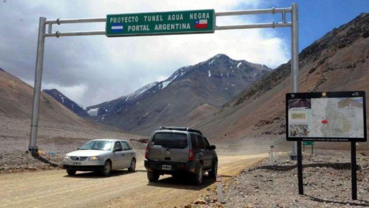 MEGATUNEL. Este año debería comenzar la construcción del túnel en el Paso de Agua Negra, para conectar Argentina con Chile.
