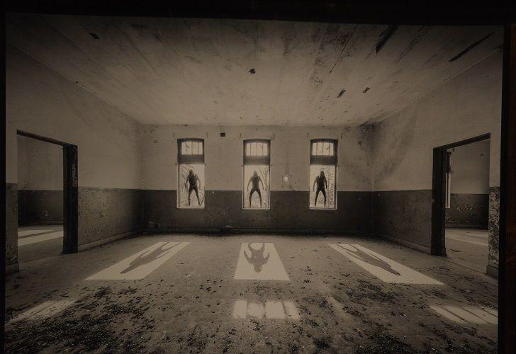 COMPENSACION DEL VACIO. Diego Rainaudo fotografía espacios vacíos de épocas pasadas.