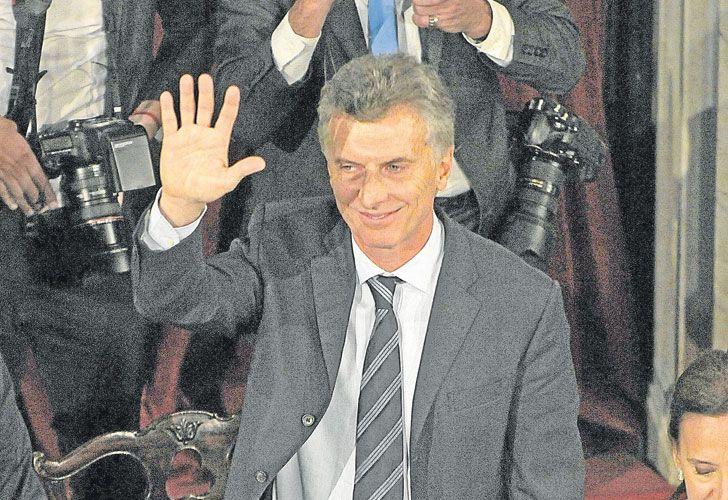 Tercera vez. Macri ya abrió las sesiones en 2016 y 2017.