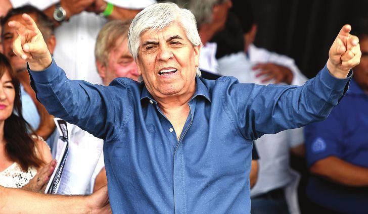 DENUNCIADO. Moyano habría sido fue imputado por el fiscal Gustavo Vidal Lazcano; y el expediente estaría en el Juzgado Federal Nº2.