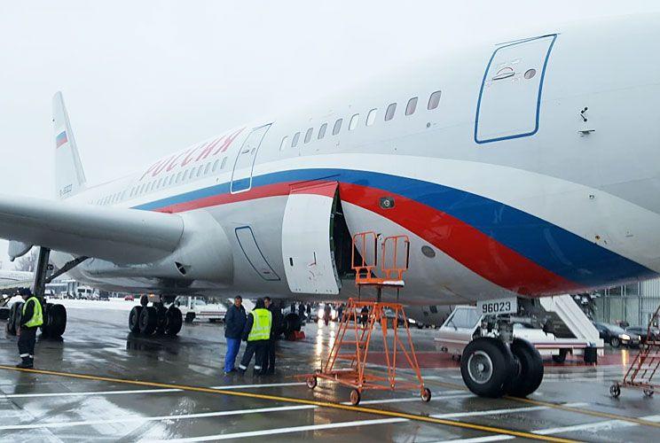Pista. La aeronave rusa, con Patrushev a bordo, tenía una misión: trasladar las valijas como señuelo para dar con los narcos.
