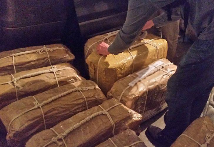 El 22 de febrero se hallaron 400 kilos de cocaína en la embajada rusa.