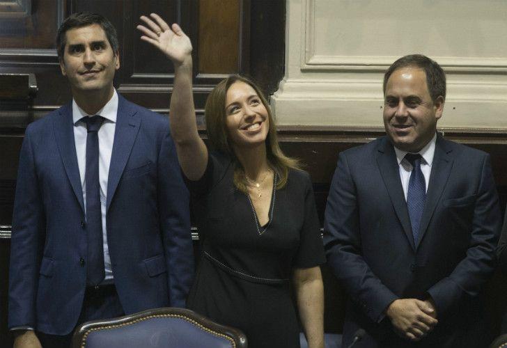 María Eugenia Vidal abrió las sesiones parlamentarias en la Legislatura bonaerense.