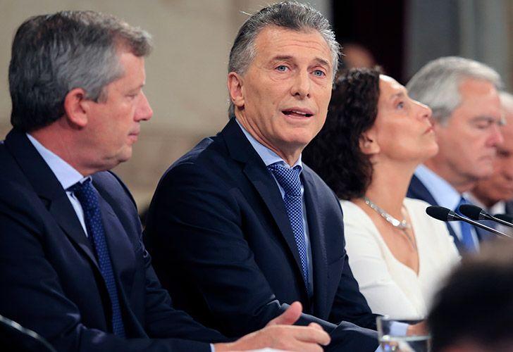Macri inauguró el 136 período de sesiones ordinarias en el Congreso.