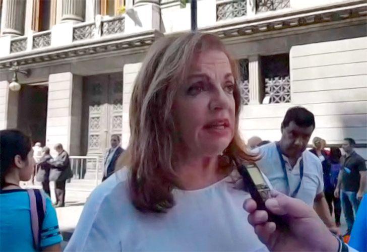 Nilda Garré opina sobre el discurso que dio el Presidente Macri en la asamblea legislativa