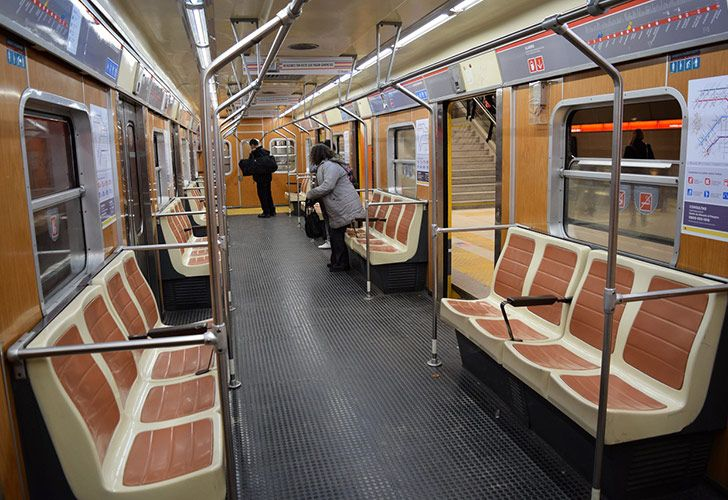 Línea B del Subte de Buenos Aires.