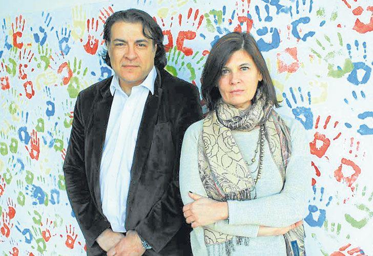 Expertos. Luis Brusco y Laura Morelli, los dos investigadores argentinos que participan del proyecto.