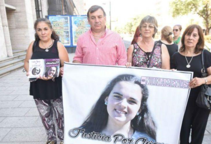 Los padres de Chiara Páez, la joven asesinada en 2015 por su novio.
