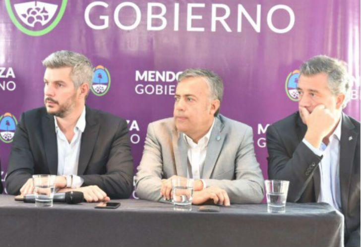 El jefe de Gabinete, Marco Peña, en Mendoza.