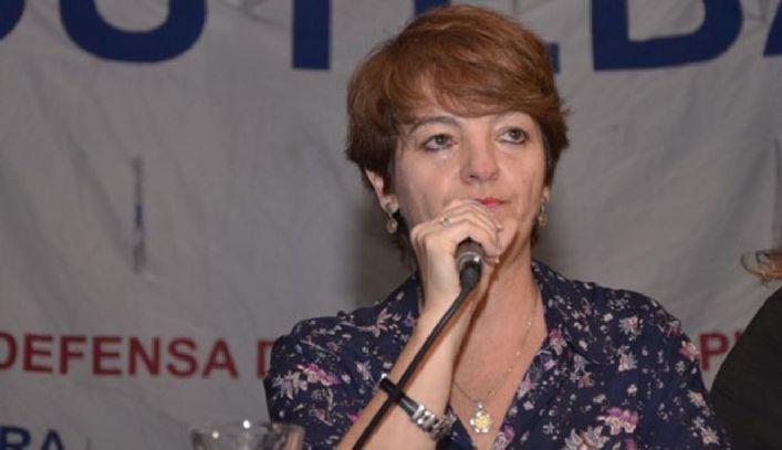 María Laura Torre, secretaria gremial del sindicato de docentes.