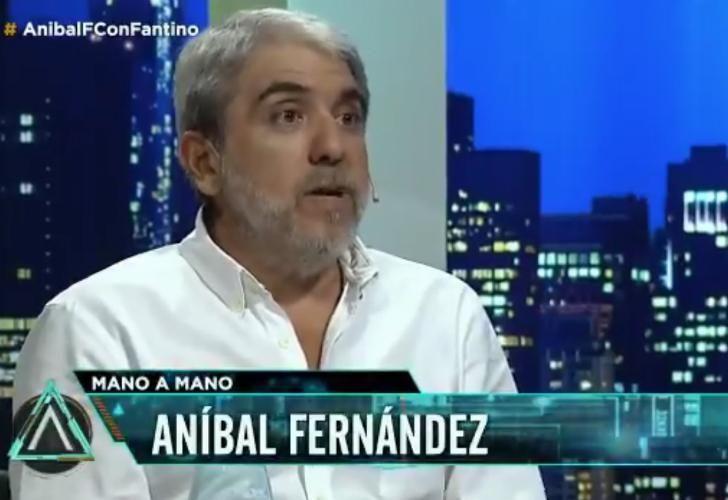 Aníbal Fernández, ex jefe de Gabinete de la Nación.