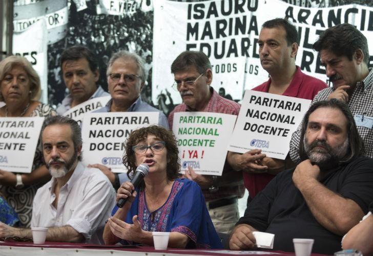 Sonia Alesso de CTERA pidió al Gobierno que