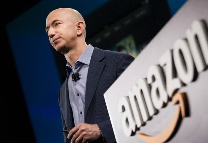 Jeff Bezos, el más rico del mundo.