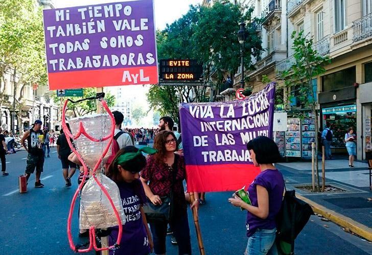 Paro por el Día Internacional de la Mujer