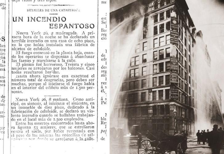 Era el 25 de marzo de 1911, el día trágico que inspiró la lucha de las mujeres del siglo XX por la igualdad de derechos y oportunidades.
