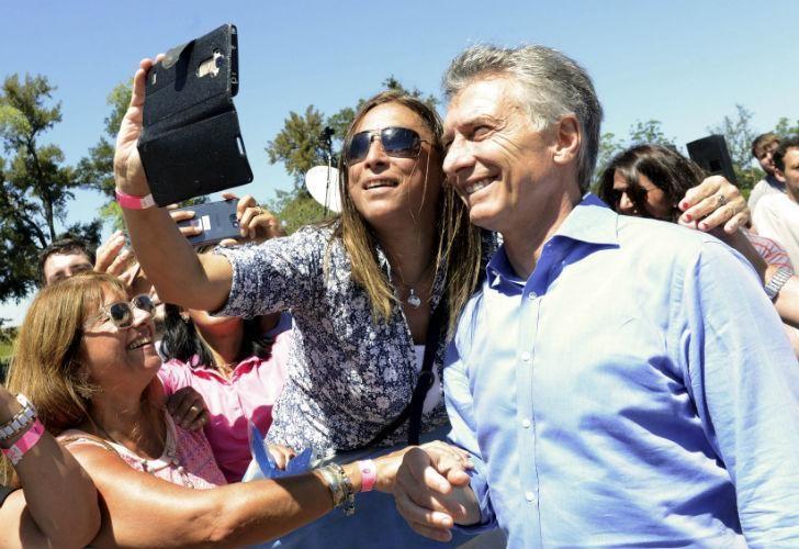 Macri encabeza un acto por el Día de la Mujer.