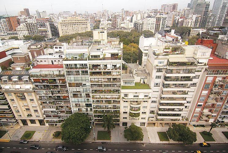 En altura. En la Ciudad, se calcula que hay unos 65 mil edificios.