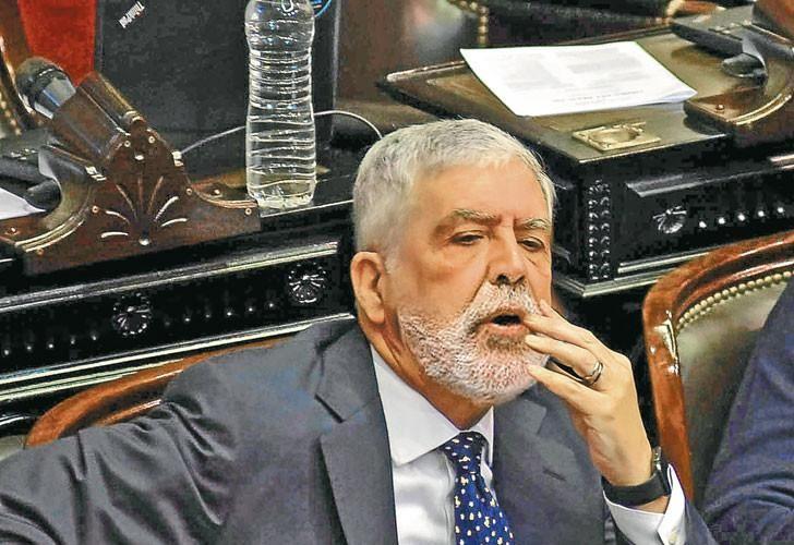 Julio De Vido en su etapa como diputado nacional.