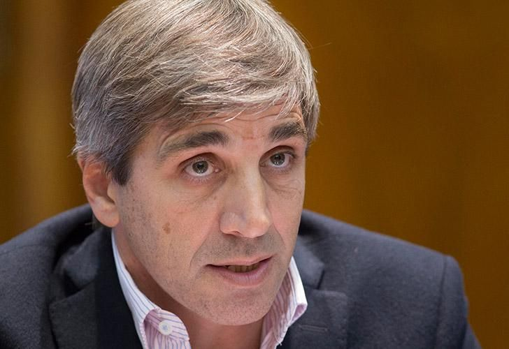 El ministro de Finanzas Luis Caputo se reunió con inversores en Nueva York.