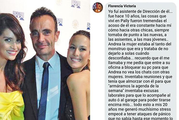 Acusado. Marcelo Altuna es socio de la agencia Personally, que funciona desde hace más de 20 años (izq.). Una ex asistente detalla lo que vivió.