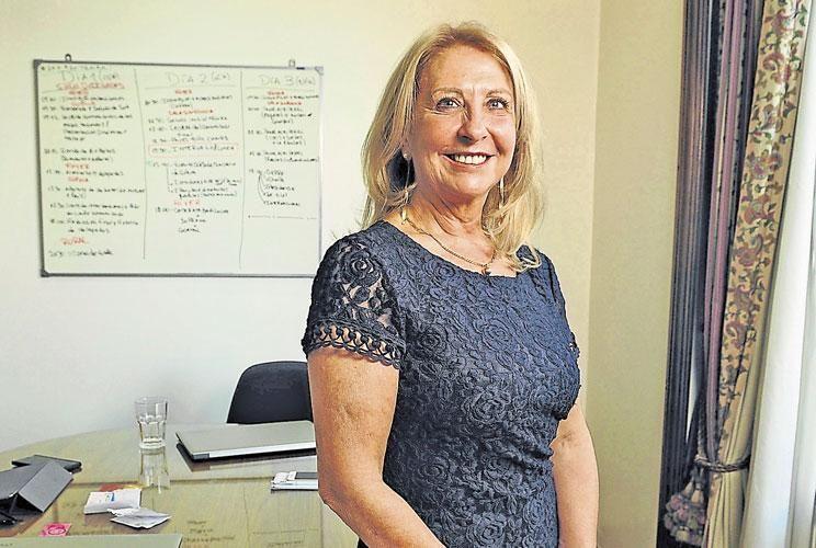 Multitasker. La empresaria vitivinícola ocupa una banca desde 2015. También lidera el W20 local.