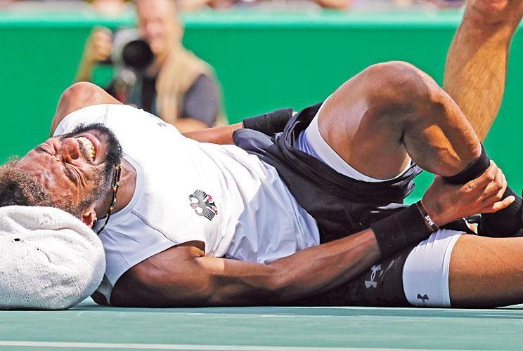 Dolor sobre el cemento. Las lesiones de tenistas se acumulan. En Indian Wells están ausentes Nadal (dolor en su pierma derecha), Murray (cadera), Wawrinka, Gasquet y Tsonga, los tres con problemas en sus rodillas.