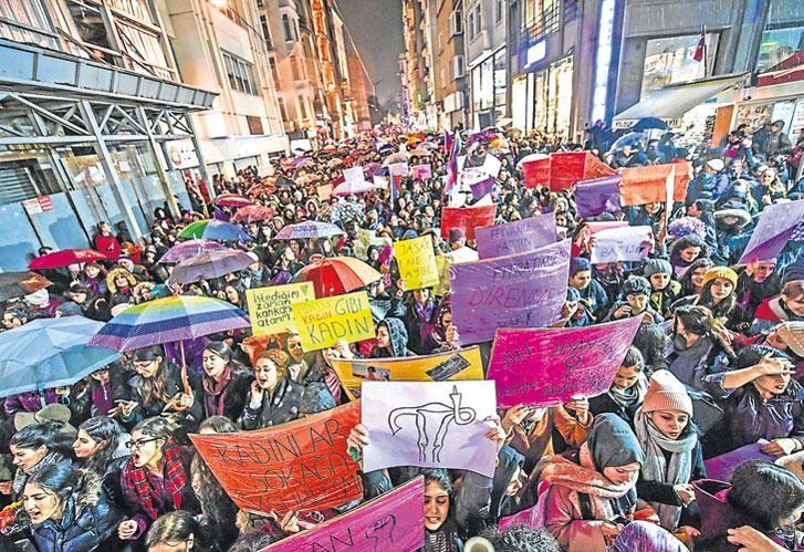 Paro internacional. La protesta mostró seres valientes, pensantes y sin miedo.