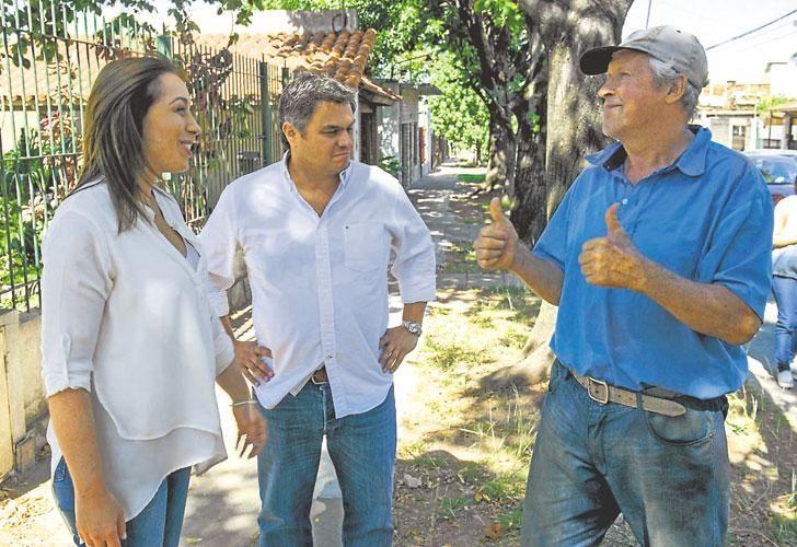Timbreo. La mandataria bonaerense fue a San Martín; Larreta se reunió con vecinos en Villa Real.
