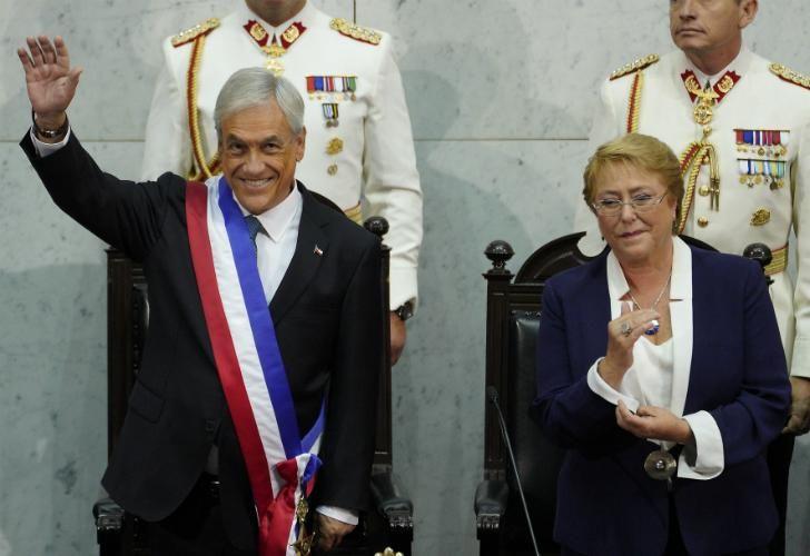 La ceremonia se celebró en el Congreso Nacional, en Valparaíso.