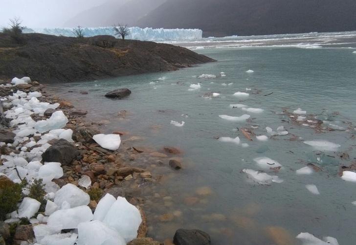 El Perito Moreno se rompió de noche por segundo año consecutivo