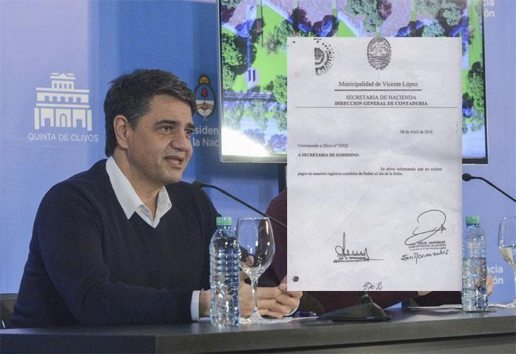 El fiscal pidió incorporar a la investigación un comodato entre el intendente de Vicente López y la firma ITC SA, de la red de lavado del cartel de los Urabeños.