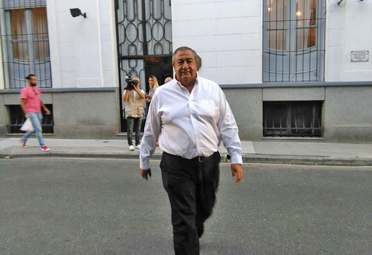 Héctor Daer, uno de los triunviros de la CGT, presente en el encuentro.