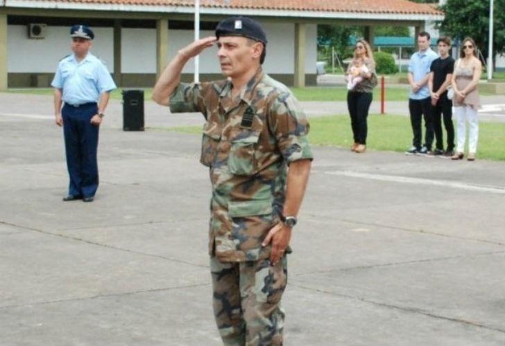 El vicecomodoro Pablo Marcelo Dip.